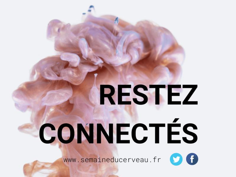 Restez connectés