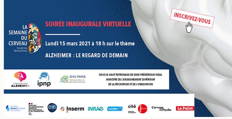 soirée inaugurale Semaine du Cerveau 2021
